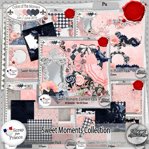 SWEET MOMENTS COLLECTION PACK FULL SIZE