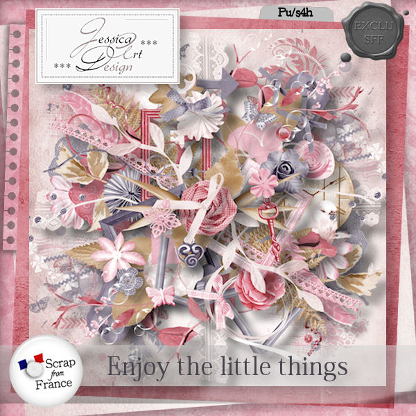 Enjoy the little things by Jessica art-design