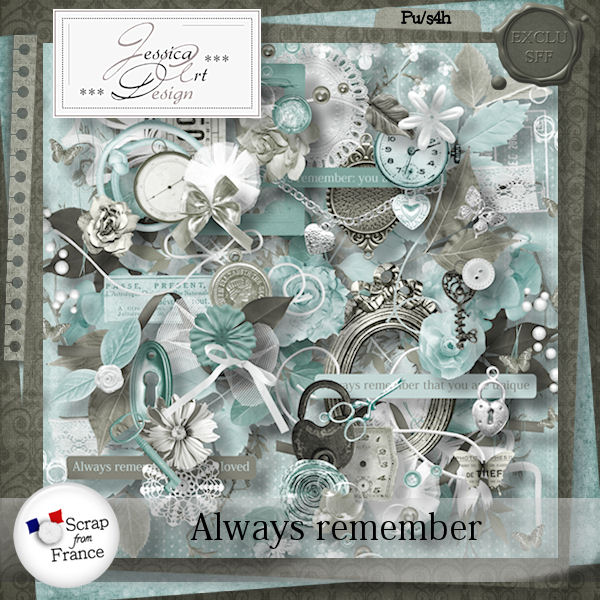 Always remember by Jessica art-design